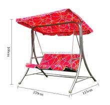 hot garden iron yard swing with canopy
