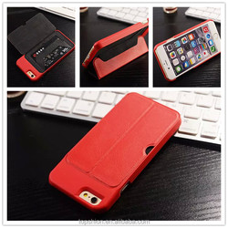 Credit card case for iphone 6 with stand, alibaba China
