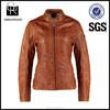 fashion custom made hot sale women winter jacket leather clothing