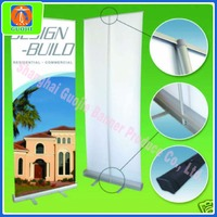aluminum base high quality pull up banner stand 4kg