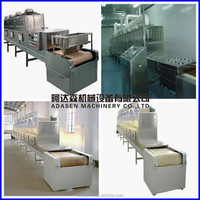 continuous microwave cashew nuts dryer/continuous microwave peanuts drying machine