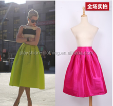 latest long skirt design elegant shiny pretty lady skirt high waisted long skirt