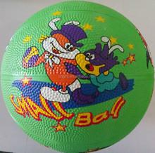 Popular useful league custom printed rubber basketball