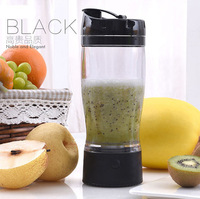 Factory directly eco-friendly powder shaker water bottle milk shaker bottle mini fruit juicer