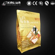 Laminated Material rabbit/cat/kangaroo/dog/pet foods packaging plastic bag