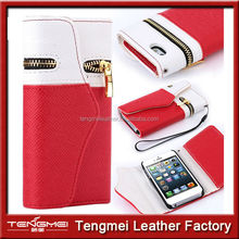 Newest Design Wallet Phone Case For Iphone 6 Case,For Iphone 6 Pouch Bag