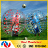 2014 new design cheap human sized soccer bubble ball for sale