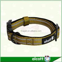 ALCOTT Vibrant Olive Green Nylon Adventure Collar