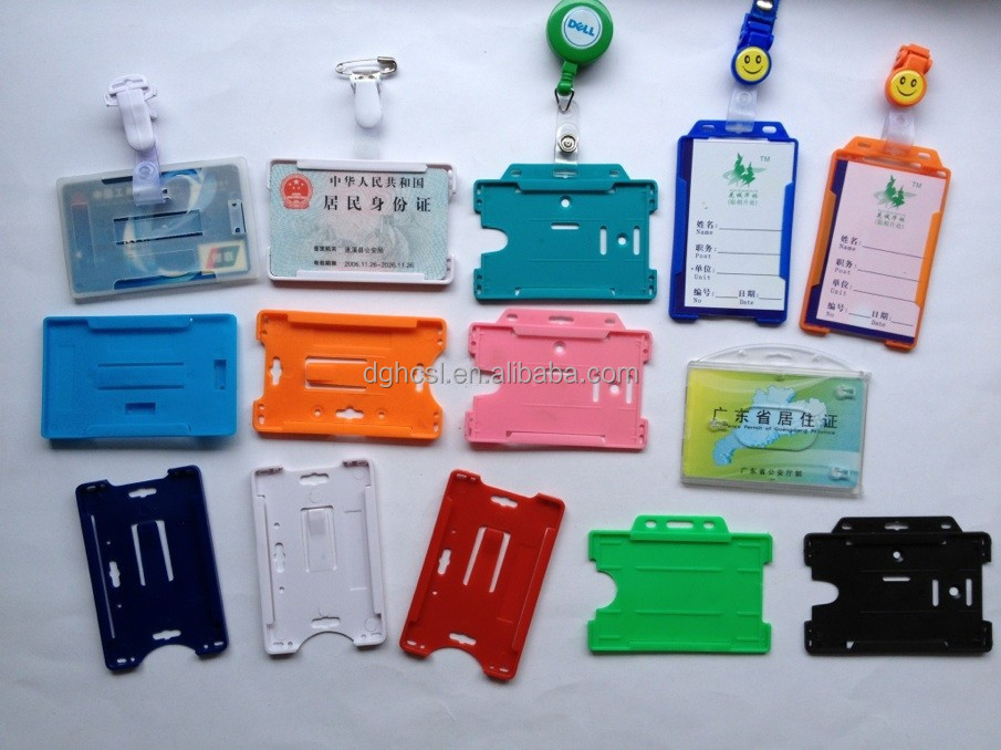 2 5 id card holder - Plastic Id Card Holder