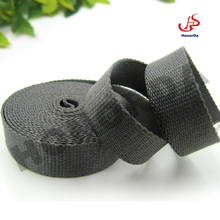 2cm grey woven polyester webbing strap for bags