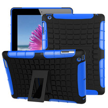 Protective Universal Tablet Cover Kickstand Case for Apple ipad 2 3 4