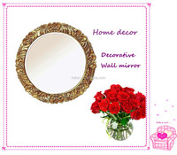 Beautiful Rose Decorative mirror, Round Wall mirror, Home decoration