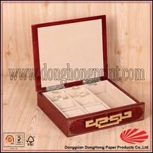 Decorative fashion wooden pocket watch display case