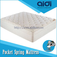 China Factory Price Modern Bedroom Furniture Pocket Spring Mattress With Wool Knitting Fabric AC-1010