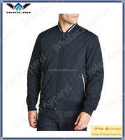 Custom cool guy varsity quilted jacket with bomber style for jackets men