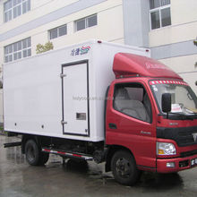 Used refrigerated cargo van for sale made of pp honeycomb sandwich panel