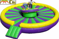 CILE Newly Design Customized Inflatable Fighting Arena Jumping Bed for Sale
