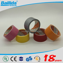 New launched products various styles economical fireproof colored designer duct tape wholesale