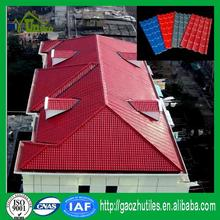 Building materials synthetic spanish roof tile beautiful roof shingle made in China