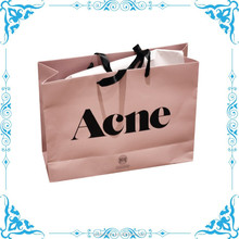 pink clothes shopping paper bag