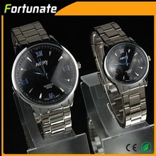 High quality stainless steel watch, Couple lover wrist watch Wrist watches for couples