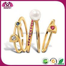 Yong Girl Rings Five Finger Ring