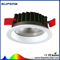 Manufacturer supply 9 to 20w cob led flush mount ceiling light fitting with best quality