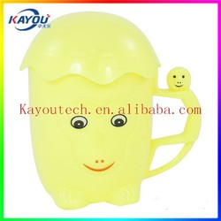 Eco-friendly and cool design PET plastic cup