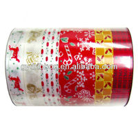 Ribbon Spool Type and Poly Material Christmas PP Printed Ribbon/Fashion design high quality butterfly printing polypropyl ribbon