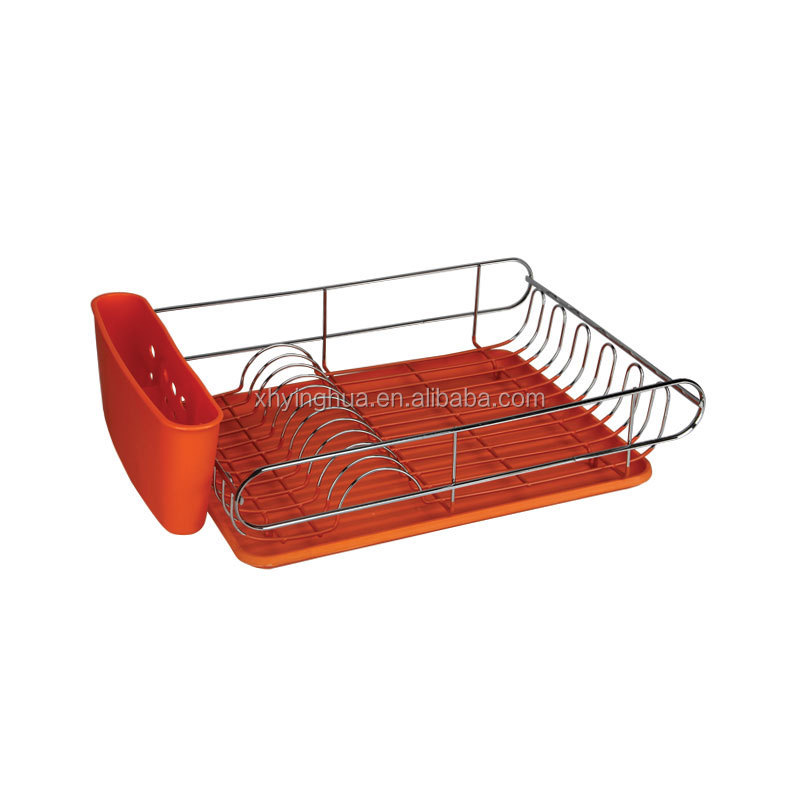 how to clean plastic dish rack