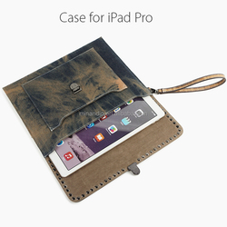 """Genuine Leather Case For iPad Pro, Real Leather Case Flip Case For iPad Pro 12.9"""""""