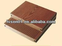 outdoor decking floor /wpc decking floor on sale/water resistant wpc outdoor decking floor