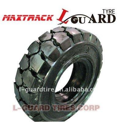 Sólido de neumáticos de caucho de 6.00 - 9 ( 4.00E )