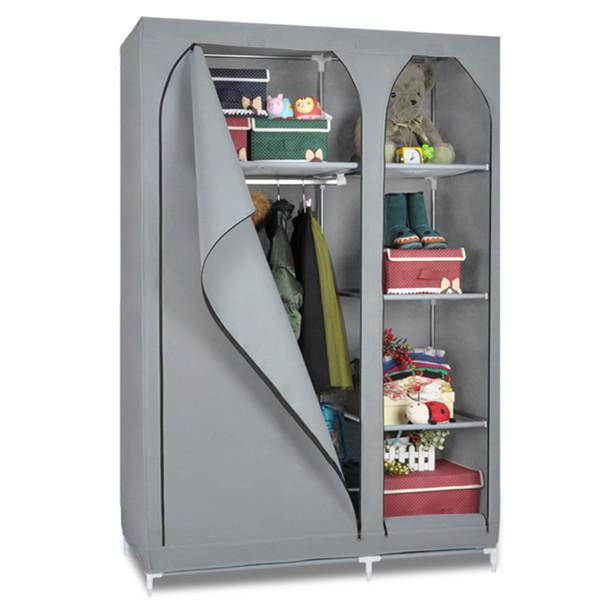 Plastic Portable Closet : Plastic free standing kids closet cheap folding cupboard