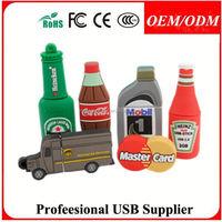 DIY Promotion gifts , custom usb flash drives oem usb flash drives pvc usb flash drives with new style /color/logo for gift