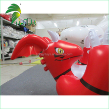 Inflatable Laying Red Dragon Cartoon With Sexy SPH