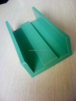 abrasion resistant and self-lubricating uhmwpe plastic shaped pieces supplier