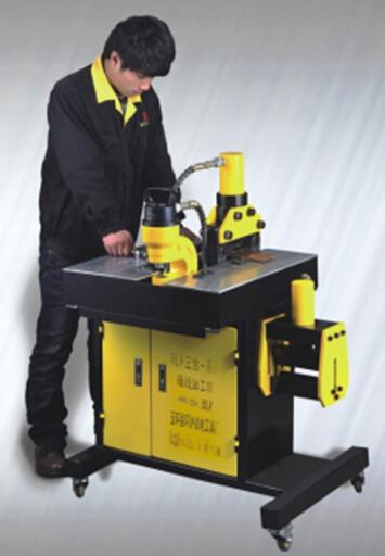 Hidraulica máquina dobladora de barras de cobre HHM-60 HHM-70 HHM-80