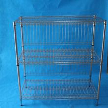 Stainless steel wire frame shelf,steel grating shelves
