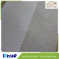 polyester nonwoven fusible interlining fabric for shirt