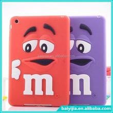 Wholesale Cheap Price Silicone Cartoon Case for ipad mini Cover