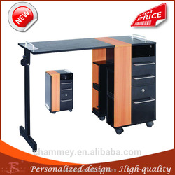 2015 best sale steel inflatable cosmetic table,wood treatment table
