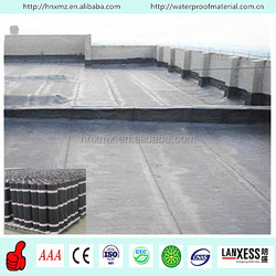 High tension strength bitumen waterproof polyester roofing material