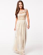 2015 new fashion lace long elegent backless chiffon evening dress wholesale