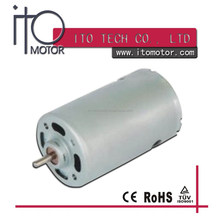 brush 550 555 blender dc motor / 14.4V dc motor 35.8mm diameter /12v dc motor for small home appliance