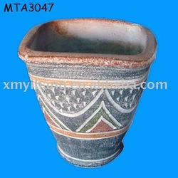 Useful hand made terracotta Indian Clay Pot