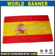 españa país de poliéster bandera nacional