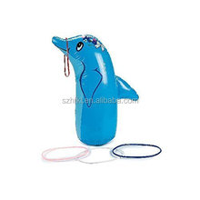 Dolphin Ring Toss Game Inflatable Beach Pool Party Kids
