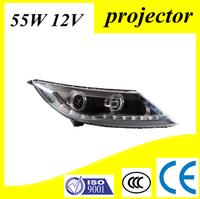 CCC CE E-Mark Car Styling Auto Lighting System Sportager R Headlight With Led Drl Angel Eye Bi-xenon Headlamp
