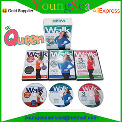 Brand New Jessica Hot Smith - WALK ON - 3 DVDS Super Box Set Walk The Weight Off 30 Day Plan Factory Sealed